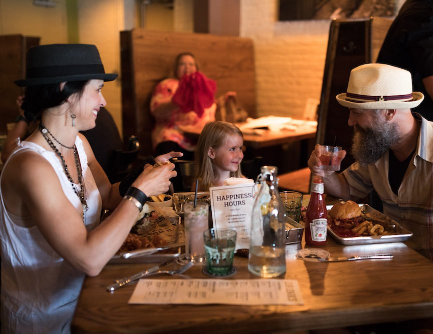 Reservations for indoor dining tables can be made online for parties up to 6.